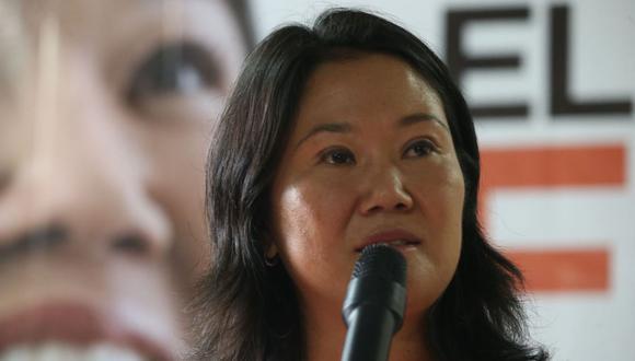 Hace una semana, Keiko Fujimori recorrió el norte del país como parte de su campaña electoral.