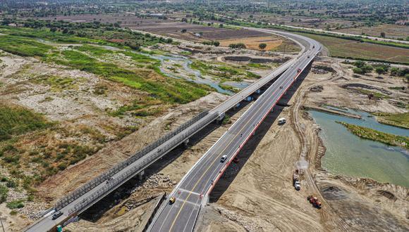 El MTC anunció que al culminar la emergencia sanitaria por el COVID-19 se reiniciará las obras de construcción de 36 puentes en seis regiones del país (foto referencial)