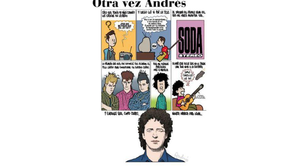Otra vez Andrés: un año más sin Gustavo Cerati, según Edery