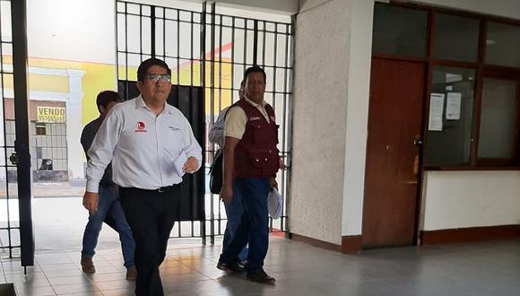 Colectivos pidieron la separación temporal de Torres Saravia del Gobierno Regional, pero el gobernador regional lo mantuvo en su cargo. (Foto: Ralph Zapata)