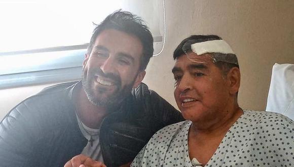Las propiedades de Leopoldo Luque, médico personal de Diego Maradona, fueron allanadas. (Foto: EFE)
