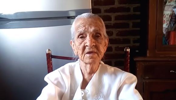 Una anciana youtuber decidió pedir ayuda para poder vivir de sus videos. (Foto: Cocinando con Ninfa / YouTube)