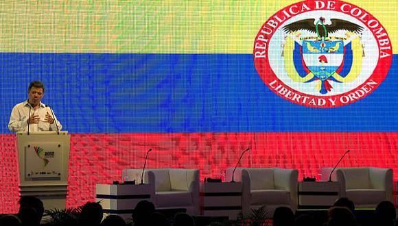 """Las estimaciones del FMI coinciden con las del ministro de Finanzas de Colombia, quien recalcó que la economía y el proceso de paz están separados por una """"muralla china"""". (Foto: AFP)"""