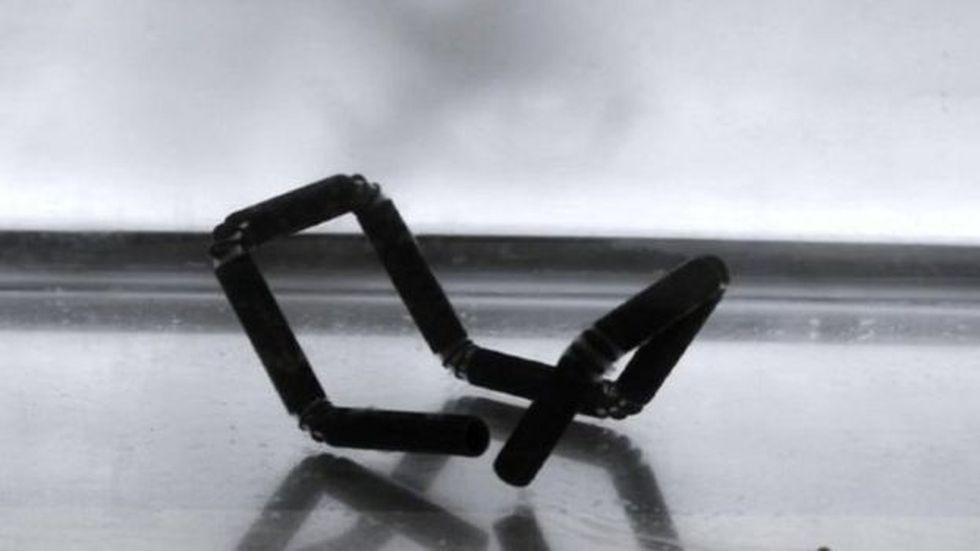 Estos son los objetos que es capaz de fabricar la impresora que inventó Skylar Tibbits.