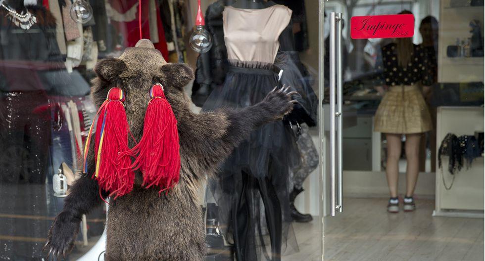 Rumania y su tradicional paseo de osos por Navidad - 4