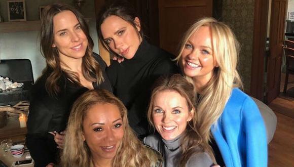Así fue el reencuentro de las Spice Girls. (Foto: Instagram)