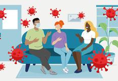 COVID-19: el gráfico que te ayuda a evaluar el riesgo de contagio cada vez que vas a una reunión social