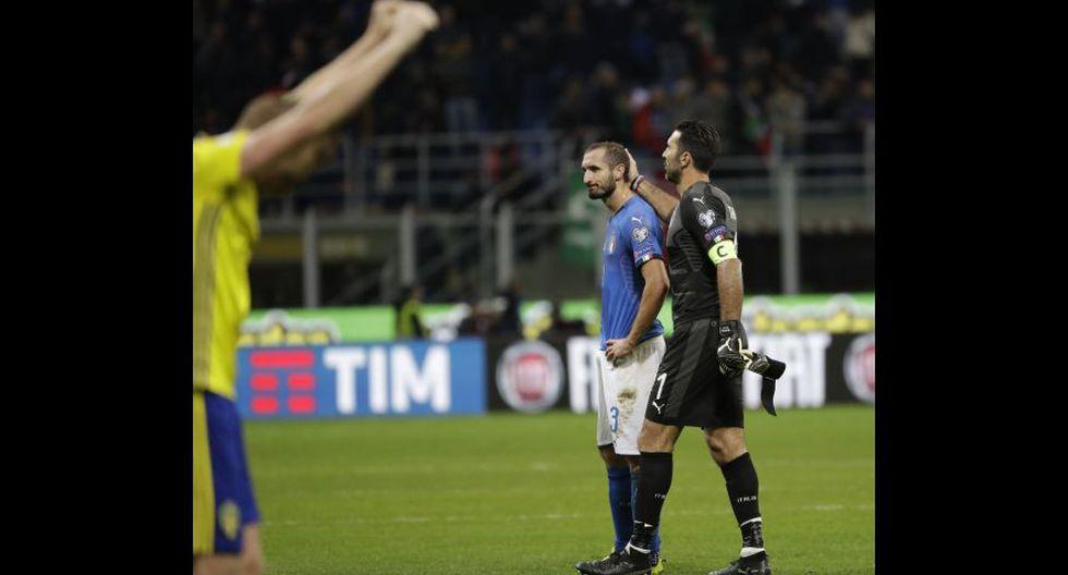 Italia faltará a su primer Mundial en 60 años. (Fotos: agencias)