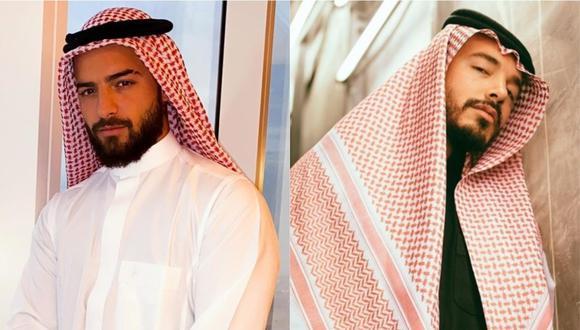 """Maluma vuelve a tildar de """"copión"""" a J Balvin por su viaje a Arabia Saudita. (Foto: Instagram)"""
