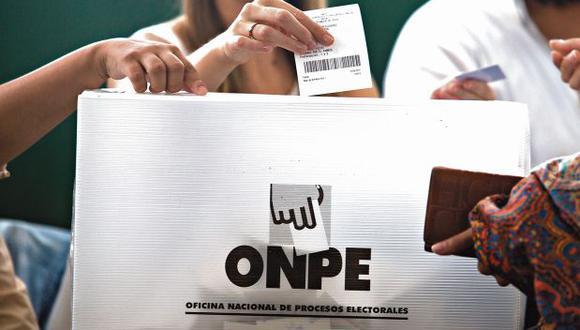 La ONPE dará apoyo técnico a todas las elecciones partidarias. (Foto: Juan Ponce/ Archivo El Comercio)
