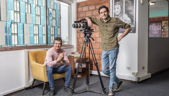 Guillermo Galdós y Luis del Valle son los fundadores de Pacha Films, la primera productora peruana que crea contenido original para Netflix.