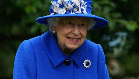 Isabel II del Reino Unido. (Foto. AFP)