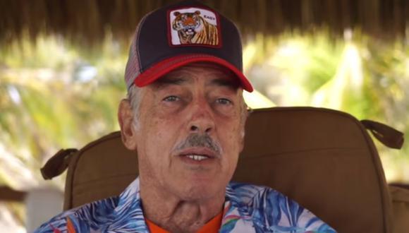 Andrés García contó una anécdota que vivió en Hollywood tras vivir un amorío con una modelo (Foto: Captura YouTube)