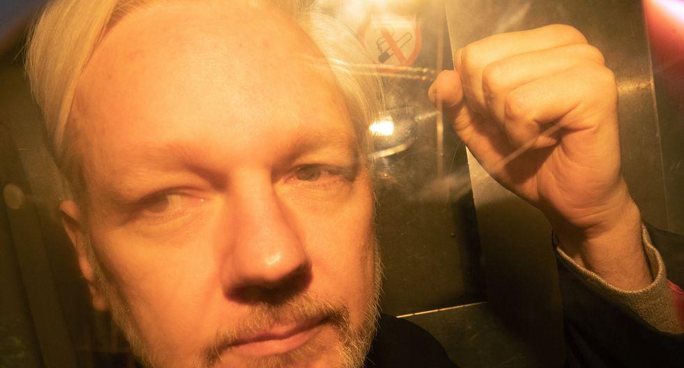 El Reino Unido firma la orden de extradición de Julian Assange a Estados Unidos. Foto: AFP