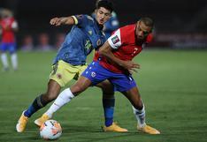 Colombia empató 2-2 frente a Chile por la fecha 2 de las Eliminatorias Qatar 2022
