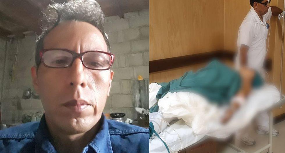 Víctima permanece internada en Hospital de Tocache, San Martín.