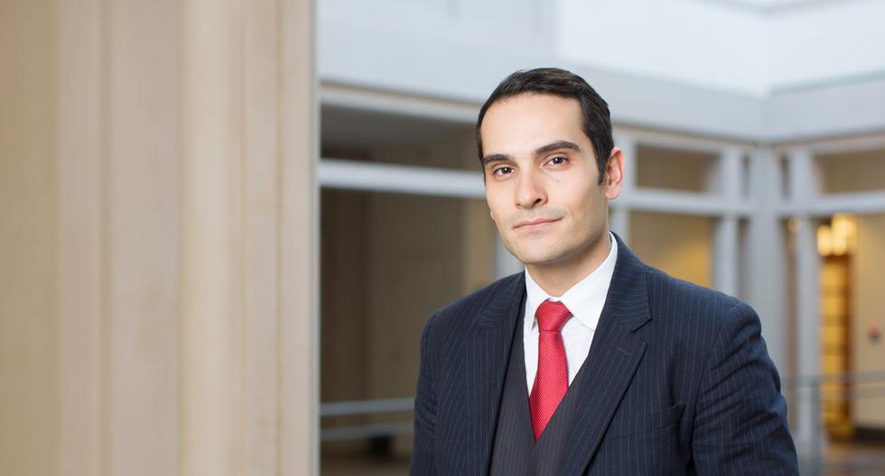 George Serafeim, Profesor de Administración de Empresas en la Escuela de Negocios de Harvard, fue invitado por Credicorp para participar en el evento Perú Sostenible. (Foto: Credicorp)