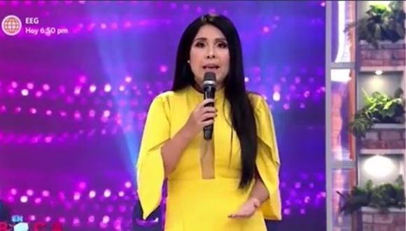 Tula Rodríguez se pronunció tras conocer los resultados de las Elecciones Generales 2021. (Foto: Captura de video)