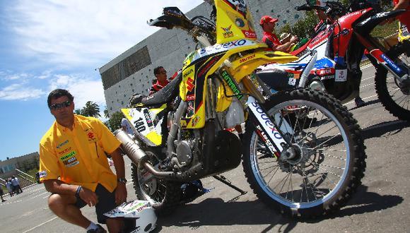 Dakar 2014: motociclista Erick Meier es la primera baja peruana