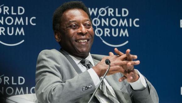 Pelé, ex futbolista brasileño. (Foto: AFP)