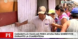 Coronavirus en Perú: Familias de Carabayllo piden ayuda para sobrevivir durante cuarentena