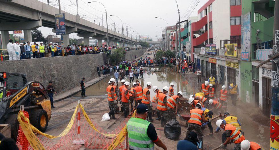 Contraloría identifica anomalías en tramos de tuberías reubicadas por interferencias con el Metro de Lima(Foto: Referencial/Andina)