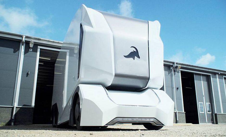 Prototipo camión autónomo eléctrico Einride T-pod