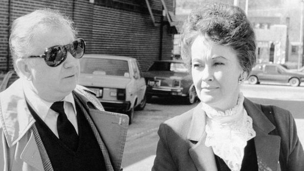 Ed y Lorraine Warren, investigadores de eventos paranormales que fueron fuente de inspiración para muchas películas de terror.