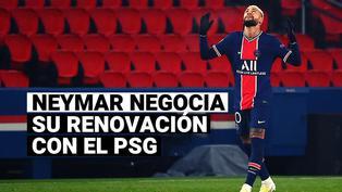 Neymar se quiere quedar en Francia y ya negocia su renovación con el PSG