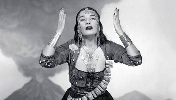 Yma Súmac se llamaba Zoila Emperatriz Chávarry del Castillo. Nació el 13 de septiembre de 1922. (Foto: AFP)