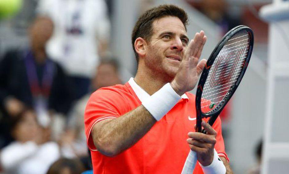 El reto de cuartos contra Krajinovic, fue una fácil victoria para 'Delpo', por 6-3 y 6-0. En rondas previas batió a Khachanov y Ramos-Vinolas. (Foto: Reuters)