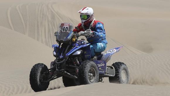 Nicolás Cavigliasso ganó 8 de 10 etapas del Dakar 2019 (Foto: AP).