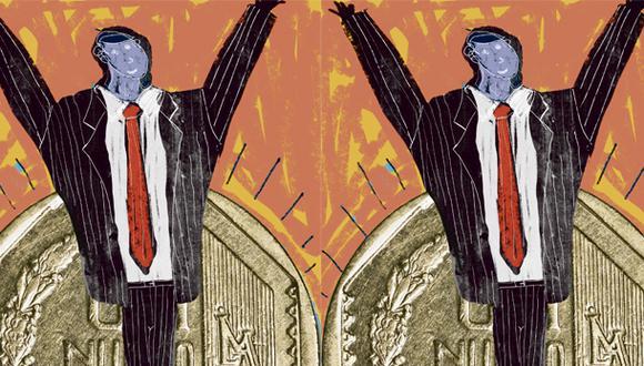 """""""Las elocuentes declaraciones del presidente Martín Vizcarra en CADE con respecto a que el Gobierno buscará reducir los costos de contratación formal han sido recibidas con expectativa"""". (Ilustración: Giovanni Tazza)"""
