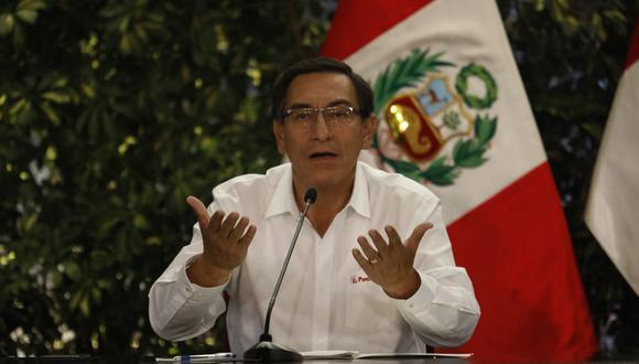 Martín Vizcarra señaló que la Villa Panamericana se convertirá en un hospital (Foto: GEC)