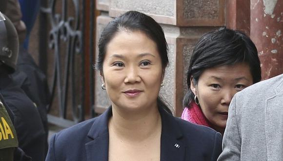 Keiko Fujimori es interrogada en el penal en el que permanece recluida desde noviembre del 2018. (Foto: GEC)