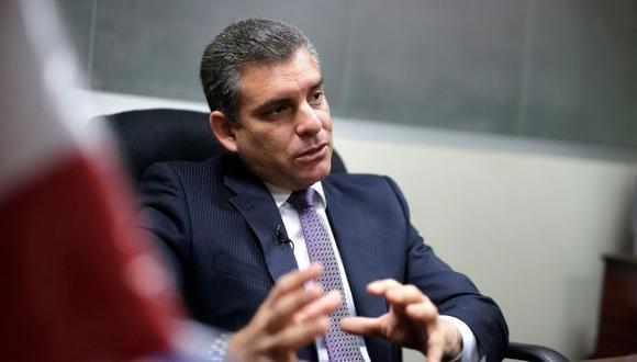 """""""Las indagaciones y diligencias preliminares que se puedan ordenar no van en orden de ningún otro cálculo"""", indicó Rafael Vela. (Foto: GEC)"""