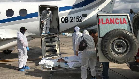 EsSalud Tarapoto trasladó a más de 70 pacientes críticos a hospitales de Lima durante el 2020. (Foto: EsSalud)