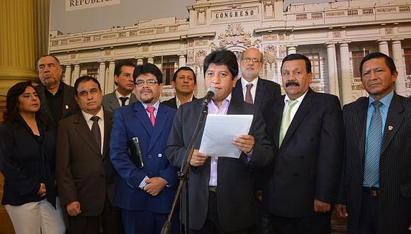 Gana Perú no teme que se levante el secreto bancario de Nadine