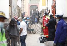Barrios Altos: un hombre falleció tras derrumbe en una quinta | VIDEO