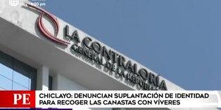 Chiclayo: denuncian suplantación de identidad para recoger canastas de víveres