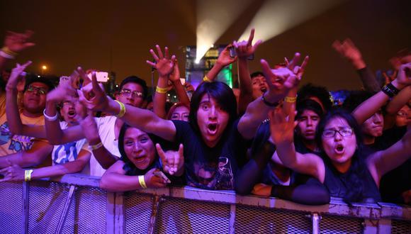 La actual edición de Vivo x el Rock tendrá tres escenarios temáticos diferentes. (Foto: Alonso Chero / El Comercio)