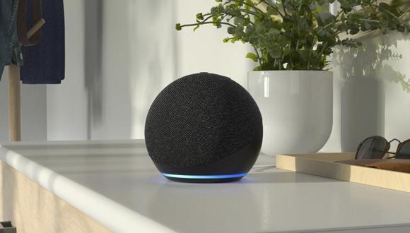 Así luce el Amazon Echo lanzado en Perú, el mismo que no solo podrá responder tus consultas, sino también controlar tu casa. (Foto: Amazon)