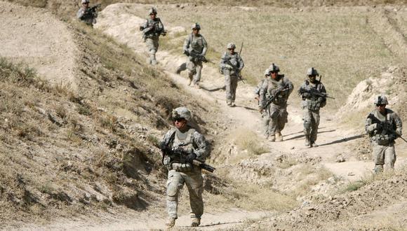 Soldados estadounidenses patrullan Kherwar, distrito de Afganistán. Imagen del 2009. REUTERS