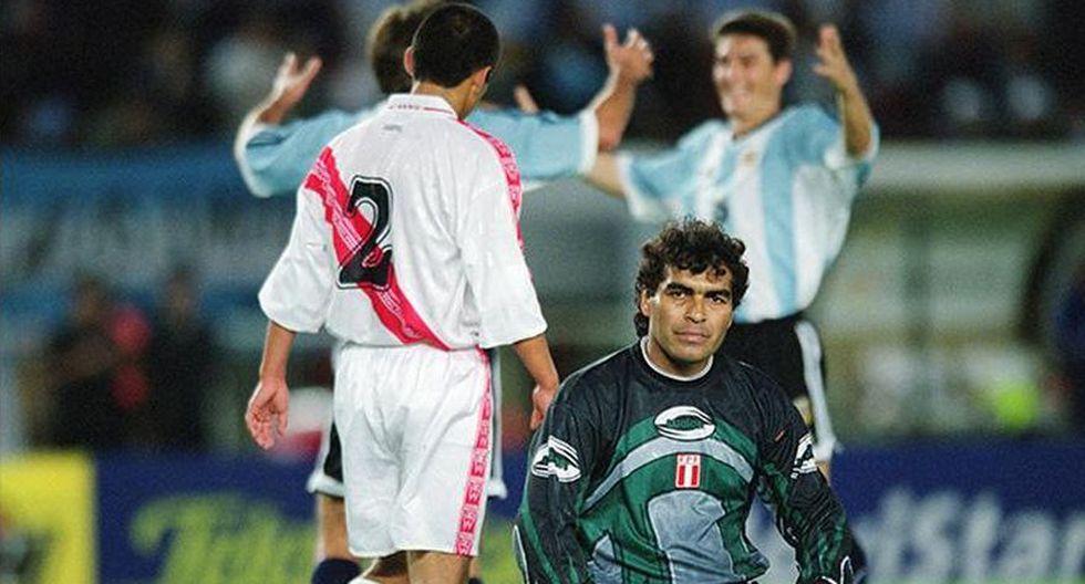 Eliminatorias Corea-Japón 2002: Perú perdió 2-0 ante Argentina en Buenos Aires. (Foto: Agencias)