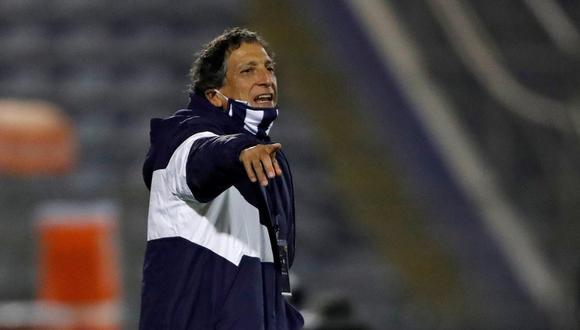 Salas ha dirigido diez partidos a Alianza y solo ganó uno. (Foto: EFE)