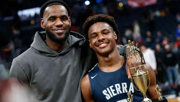 LeBron James tendrá 38 años para cuando su hijo sea elegible para la NBA. (Foto: Facebook LeBron James)