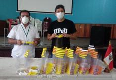 San Martín: donan protectores faciales para personal de salud que atiende a pacientes con COVID-19