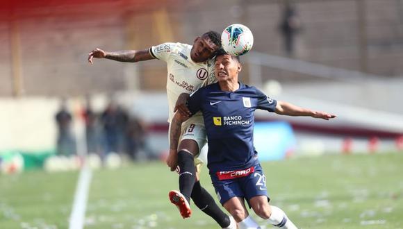 Clásico, duelo entre Universitario de Deportes y Alianza Lima.