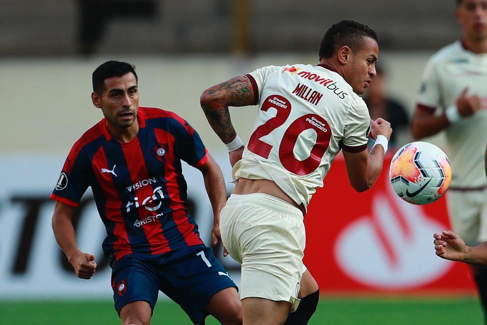 Universitario vs. Cerro Porteño. (Foto: Daniel Apuy/EC)
