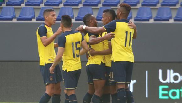 Con goles de Michael Estrada y Fidel Martínez, Ecuador venció a Bolivia en Guayaquil. | Foto: @latri